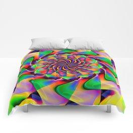 frequency mandala Comforters