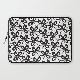 Quirky Black & White Laptop Sleeve