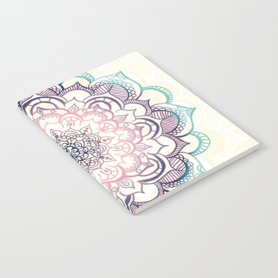 Mermaid Medallion Notebook