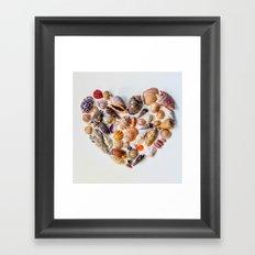 Heart of the Sea Framed Art Print