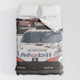 GT1 at Le Mans Duvet Cover