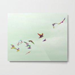 Freedom in Flight Metal Print