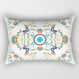 Hungarian folk art Rectangular Pillow