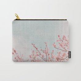 Pink Flowers in the Sky Carry-All Pouch