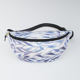 Horizontal Leaves Fanny Pack