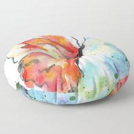 Fall Monarch Floor Pillow
