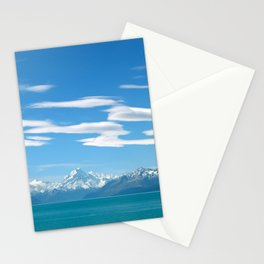 Mount Cook Cloudscape Stationery Cards