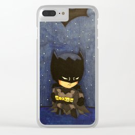 Chibi Style Bats Clear iPhone Case