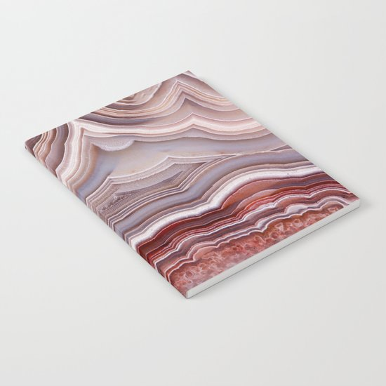 Agate Crystal Notebook