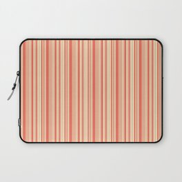 BARCODE STRIPE, CORAL Laptop Sleeve