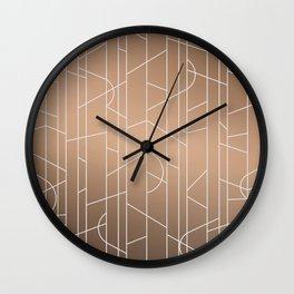 Patternbronze #3 Wall Clock