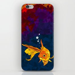 A fish! A fish! A fishy... OH!! iPhone Skin