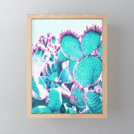 Cactus - watercolor Framed Mini Art Print