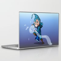 bender Laptop & iPad Skins featuring Water Bender by MDDesigns
