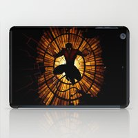 nightcrawler iPad Cases featuring Night Stained Glass by Daniac Design