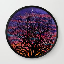 Seasons of Change Wall Clock
