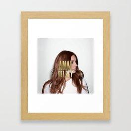 Anal... Del Rey. Framed Art Print