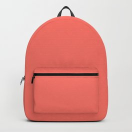 Solid Colors Series - living coral Backpack