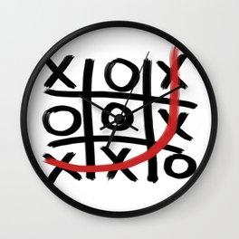 Tic Tac GOT EM Wall Clock