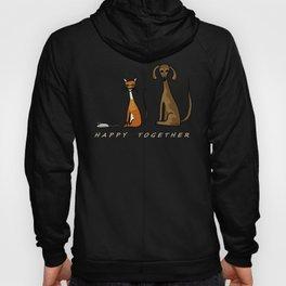 Happy Together - Black Hoody