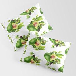 Avocado and its blossom Pillow Sham