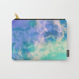 Mountain Meadow Painted Clouds Carry-All Pouch