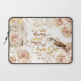 Jane Eyre - Dignified Laptop Sleeve