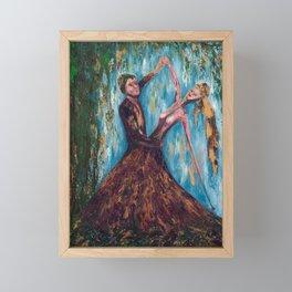 Willow Dance Framed Mini Art Print
