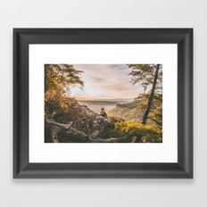 Starr Mountain Framed Art Print