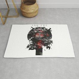 Uchiha Akatsuki Dark Monochrome Rug