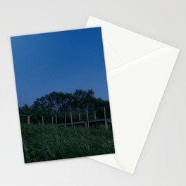 Night in Nida Stationery Cards