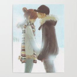 We Were There Winter Love Poster