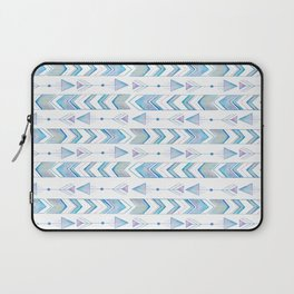 Watercolor Arrows & Chevron Laptop Sleeve
