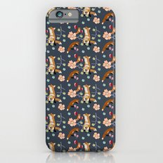 Fox and flowers iPhone 6s Slim Case