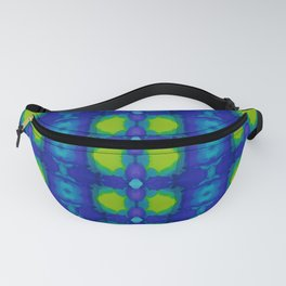 Purple and green dream II Fanny Pack
