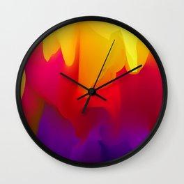 Abstract Vector Illustration. Modern Pattern. Wall Clock
