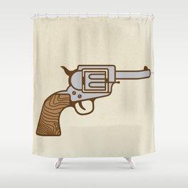 Bang! Shower Curtain