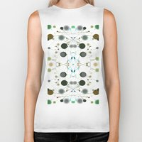 dots Biker Tanks featuring Dots by writingoverashes