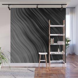 stripes wave pattern 1 bwbfpi Wall Mural