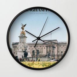 Visit  Buckingham Palace Wall Clock