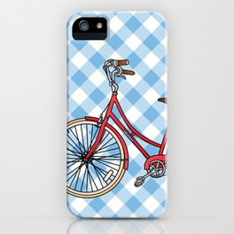 His Bicycle iPhone Case
