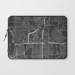 Akron Map, USA - Gray Laptop Sleeve