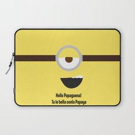 Flirty Minion: Stuart Laptop Sleeve