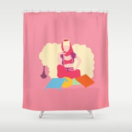 I dream of Jeannie Shower Curtain