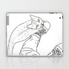 Everything I know I learned from my cat Laptop & iPad Skin