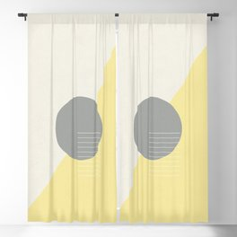Offset Blackout Curtain