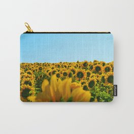 Do as the sunflowers do Carry-All Pouch