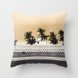 Ipanema From Above Throw Pillow