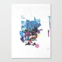 Cash Silk 002 Canvas Print
