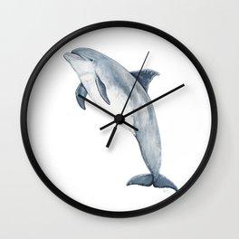 Bottlenose dolphin Wall Clock
